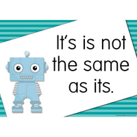 The GrammarBots Posters:Primary Classroom Resources
