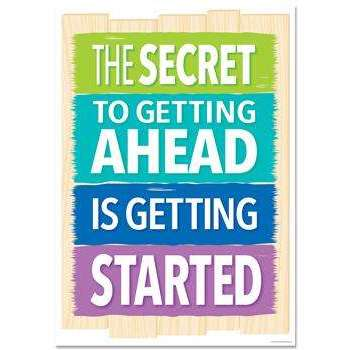 The secret to getting ahead... Inspire U Poster