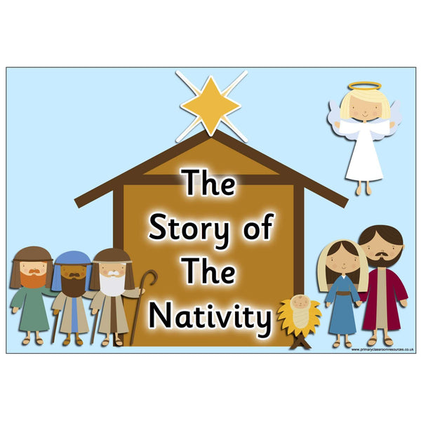 The Story of the Nativity Display Pack
