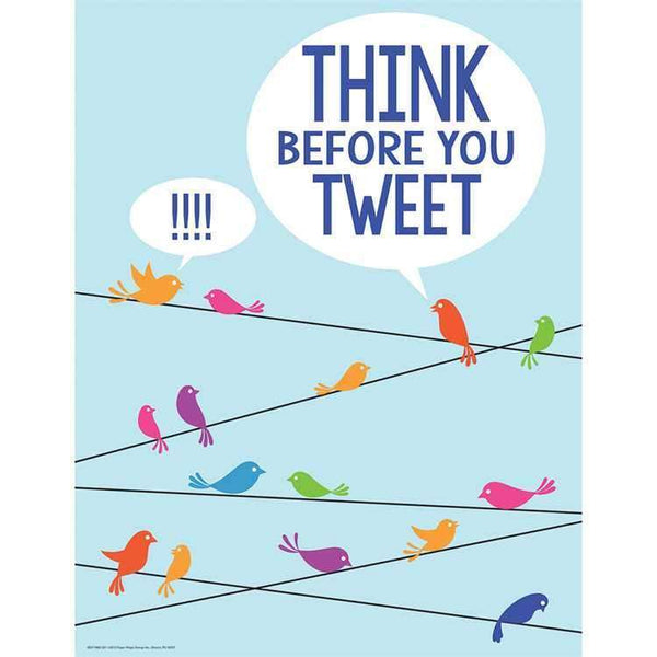 Think Before Tweet Poster