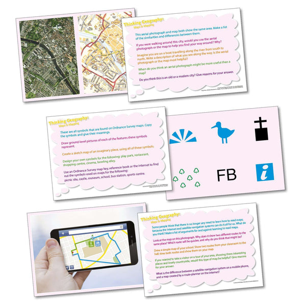 Thinking Geography - Maps and Mapping:Primary Classroom Resources