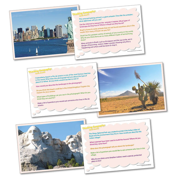 Thinking Geography - North America:Primary Classroom Resources