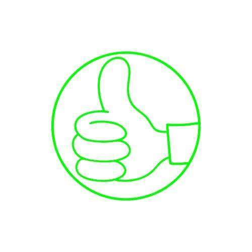 Thumbs up - Self Inking Teacher Stamper:Primary Classroom Resources