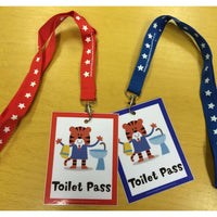 Tiger Toilet Passes:Primary Classroom Resources