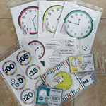 Time Bumper Pack:Primary Classroom Resources