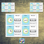 Time Loop Cards - Quarter Past:Primary Classroom Resources