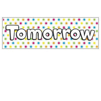 Today, Tomorrow and Yesterday Headers:Primary Classroom Resources