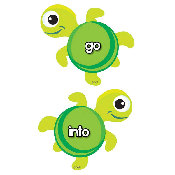 Tricky Words Turtles:Primary Classroom Resources