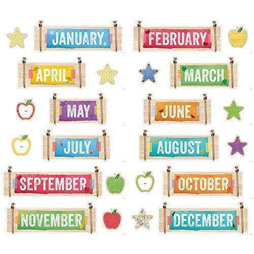 Upcycle Style Months of the Year Headlines:Primary Classroom Resources
