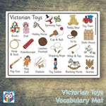 Victorian Toys Word Mat:Primary Classroom Resources