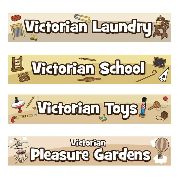 Victorians Banners Pack