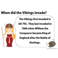 Vikings Poster Pack:Primary Classroom Resources