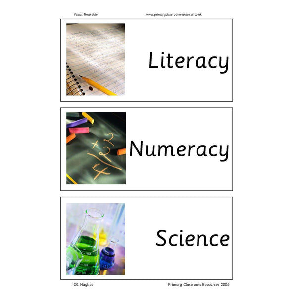 Visual Timetable:Primary Classroom Resources