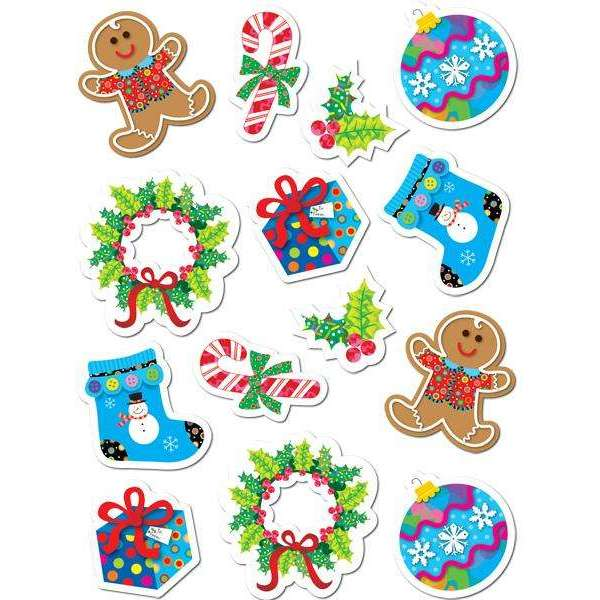 Winter Holiday Stickers:Primary Classroom Resources