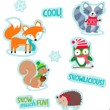 Winter Woodland Friends Classroom Reward Stickers:Primary Classroom Resources