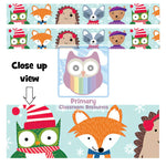 Winter Woodland Friends Display Border:Primary Classroom Resources