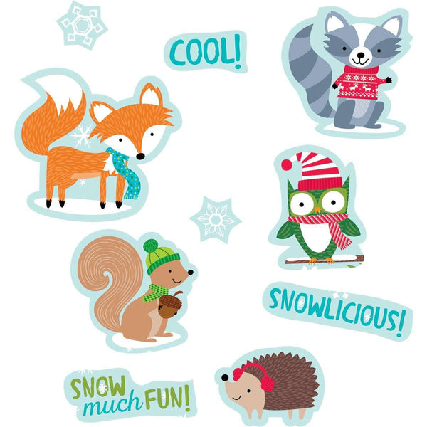 Winter Woodland Friends Stickers:Primary Classroom Resources