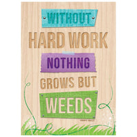 Without hard work - Inspire U Poster:Primary Classroom Resources