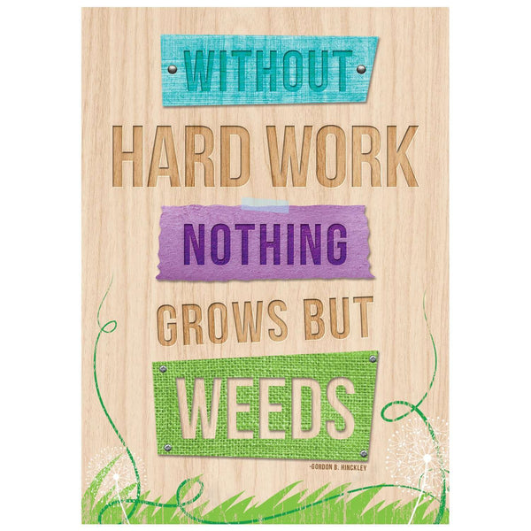 Without hard work - Inspire U Poster