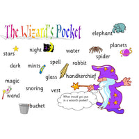 Wizards Pocket Poem Mat:Primary Classroom Resources