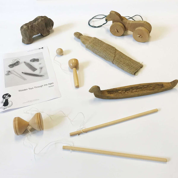Wooden Toys - Toys Through the Ages:Primary Classroom Resources