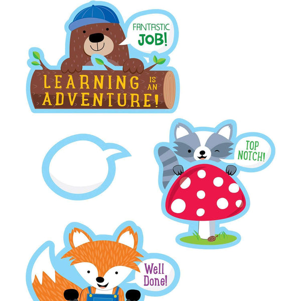 Woodland Friends Peek-Overs Bulletin Board