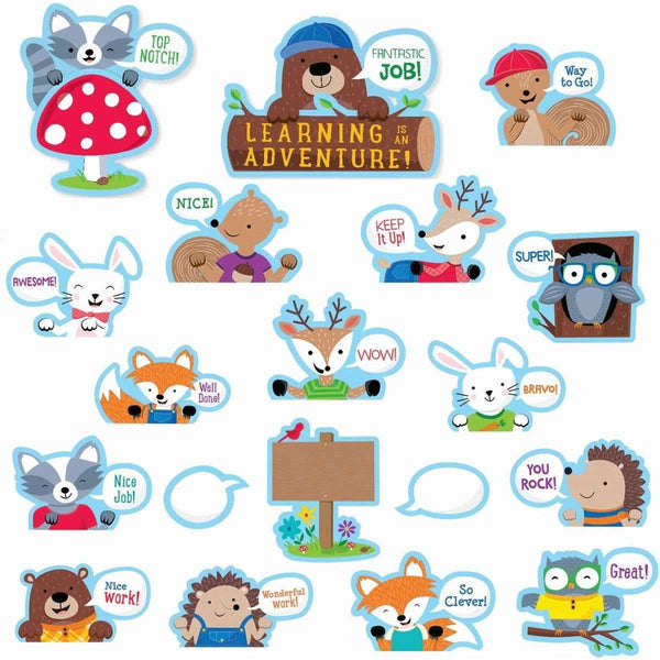 Woodland Friends Peek-Overs Classroom Display Set:Primary Classroom Resources