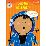 Stick Kids Workbook - Word Wizard - Grade 3 (Ages 8-9)