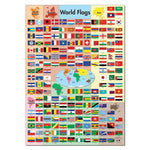 World Flags Poster WG4314:Primary Classroom Resources