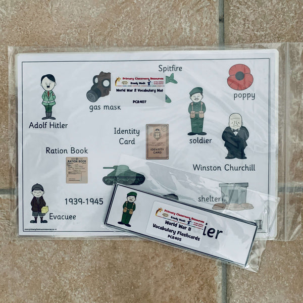 World War 2 Pack:Primary Classroom Resources