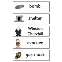 World War II Flashcards:Primary Classroom Resources