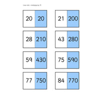 x 10 Loop Cards:Primary Classroom Resources