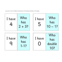 Year 1 and 2 Loop Cards:Primary Classroom Resources