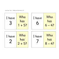 Year 1 Loop Cards:Primary Classroom Resources