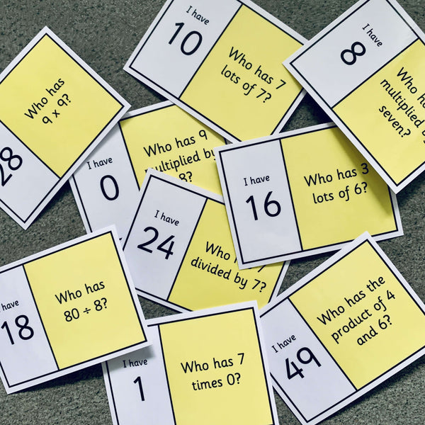 Year 5 Loop Cards:Primary Classroom Resources