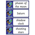 Year 5 Science Vocabulary - Earth and Space