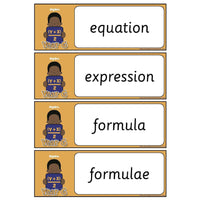 Year 6 Maths Vocabulary - Algebra:Primary Classroom Resources