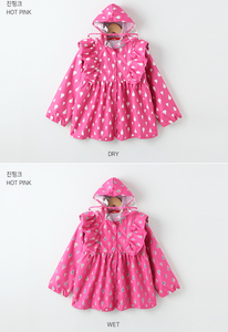 Color Changing Raincoat