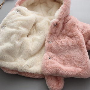 Baby Hooded Warm Coat