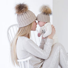 Load image into Gallery viewer, Mommy & Me Knit Beanie