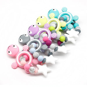 Silicone Turtle Teether Bracelet