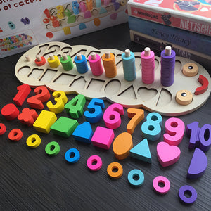Wooden Montessori Counting Toy