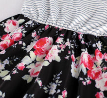 Load image into Gallery viewer, Mommy and Me Floral Maxi Dress