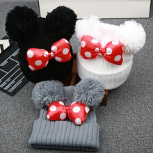 Load image into Gallery viewer, Cute Bowknot Beanies