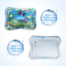Load image into Gallery viewer, Tummy Time Inflatable Water Mat