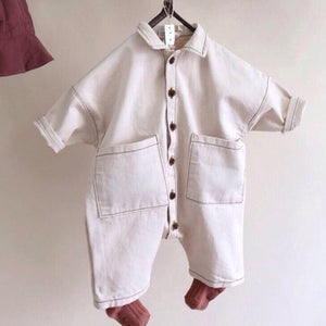 Korean Style Denim Rompers