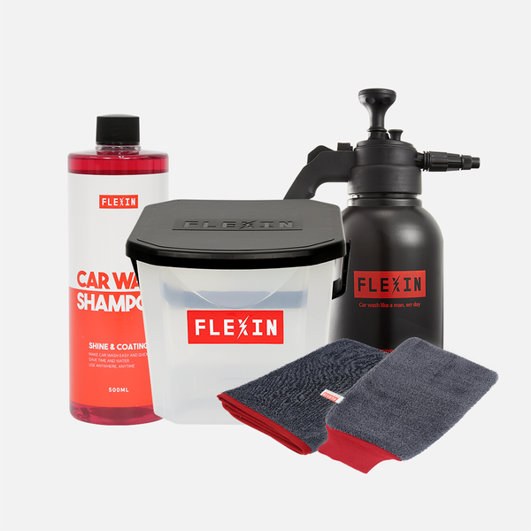 洗車組合</br>FLEXIN Car Wash Set</br>**無法送LOCKER**