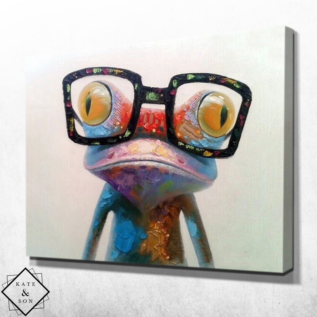 Abstract Frog
