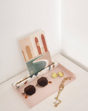 Display Tray | Pink & Multicolor