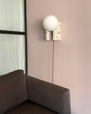 MET Stand Alone & Wall Lamp | Grey